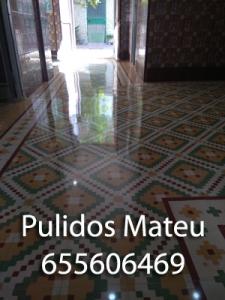 Pulido de suelos hidráulicos en Valencia