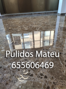 Pulido de suelos de terrazo en Valencia